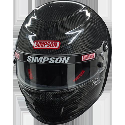 Simpson Carbon Venator Helmet, Snell SA 2015