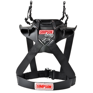Simpson Hybrid Sport Head Restraint, SFI and FIA certified