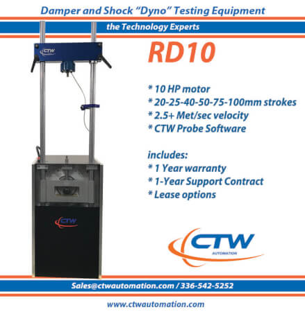 Damper and Shock dyno - crank type