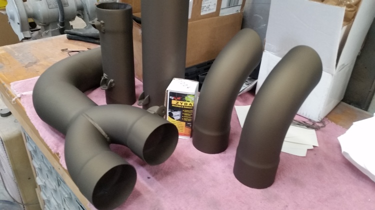 ZyBar high temperature heat dissipation coating