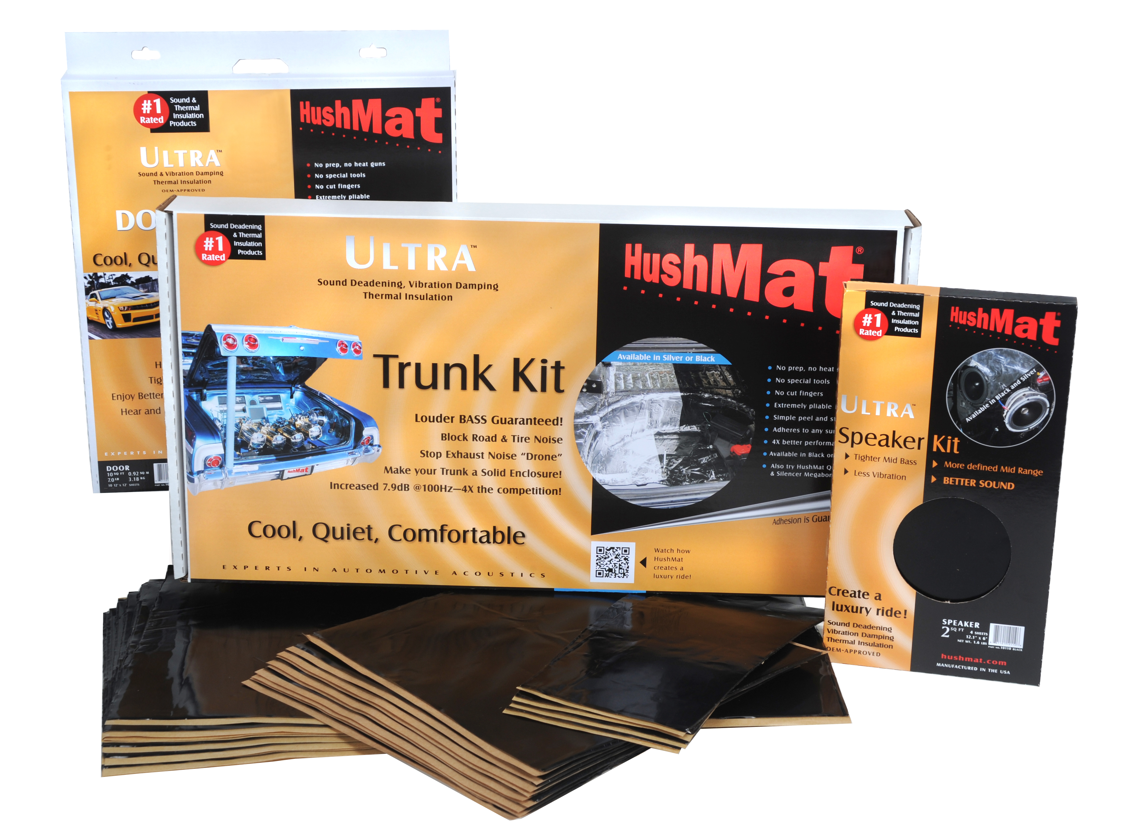 HushMat Sound & Thermal Insulation Material