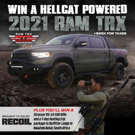 Ram TRX Dream Giveaway
