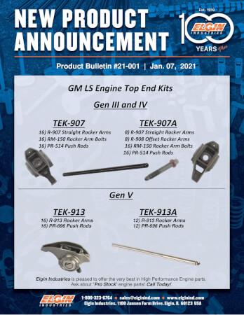 Elgin LS Engine : Top End Kits