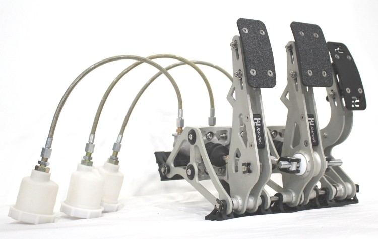 PE Racing Billet Floor Mount PedalBox Assemblies