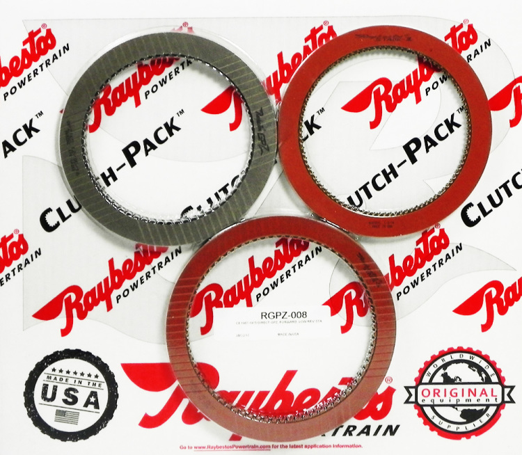 RGPZ-008 Ford C6 GPZ and Stage-1 Friction Clutch Pack Module
