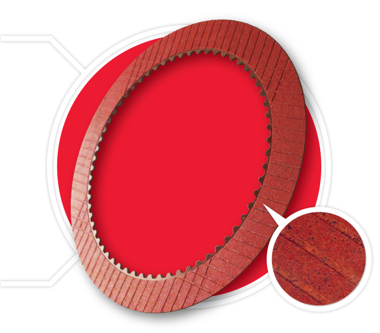 Stage-1 Performance Racing Red Friction Clutch Material