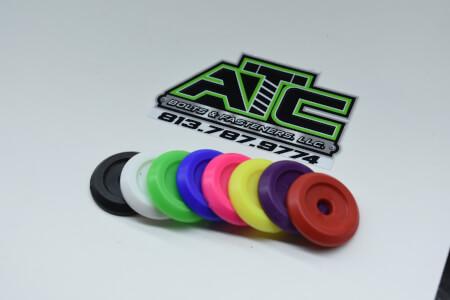 Colored Plastic Counterbore Body Washers