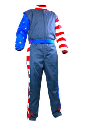 Captain U.S.A 2020 Double Layer SFI 3.2A/5 Rated Fire Suit