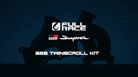 2021 Toyota Supra Top Mount Twin Scroll EWG Turbo Manifold