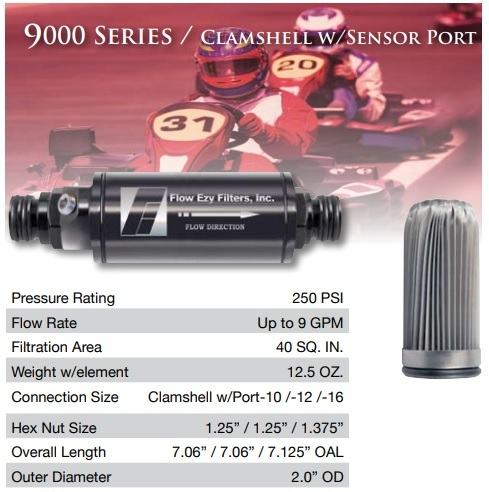 Series 9000 Performance Racing Filters