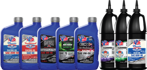 VP RACING FUELS LAUNCHES CUSTOM BLEND LUBRICANTS