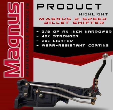 Magnus 2-Speed BIllet Shifter