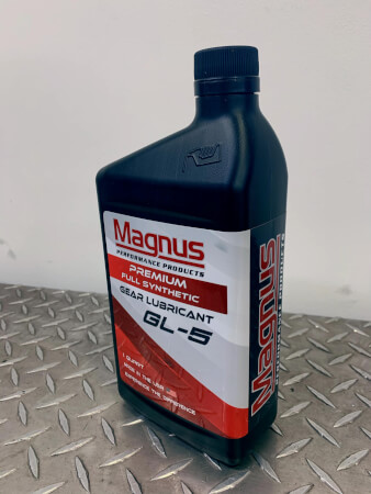 Magnus Premium Full Synthetic Gear Lubricant GL-5