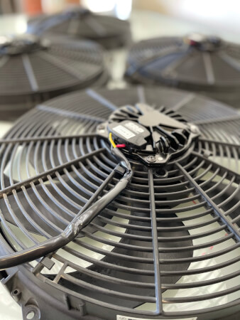 High Performance Brushless Radiator Fans - PWM Controllable