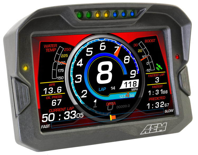 "CD-7 Carbon 7"" Color Digital Dash Displays"