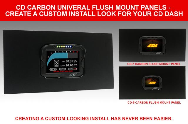 CD Carbon Dash Universal Flush Mount Panels