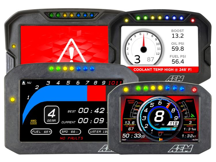 CD Carbon Digital Dash Displays
