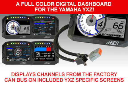 A Full Color Digital Dashboard for Yamaha YXZ!
