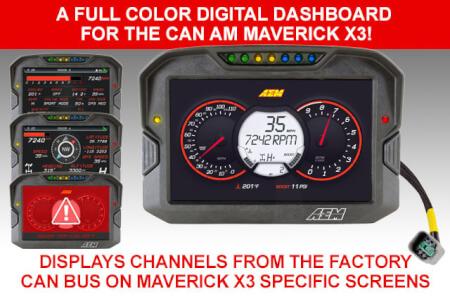 Next-Level Data Visualization  for Can Am Maverick X3 Turbo