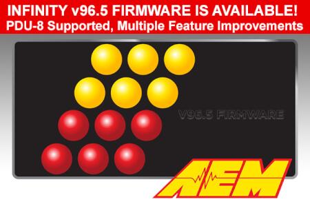 New InfinityTuner Firmware v96.5 for Infinity ECU