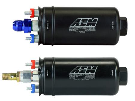 E85-compatible 400LPH  Inline Fuel Pumps