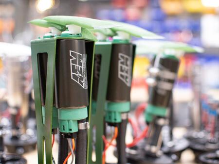 E85-compatible In-Tank 340LPH Fuel Pumps