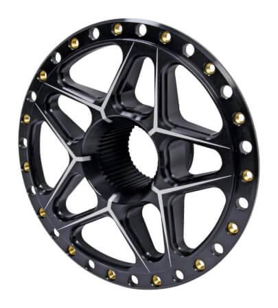 TIP2890 Splined Wheel Center Black