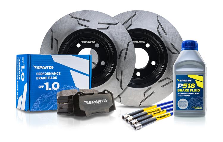 Stage 1 & 2 OEM Performance Upgrade Brake Kits