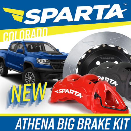 Athena Big Brake Kit for Chevy Colorado
