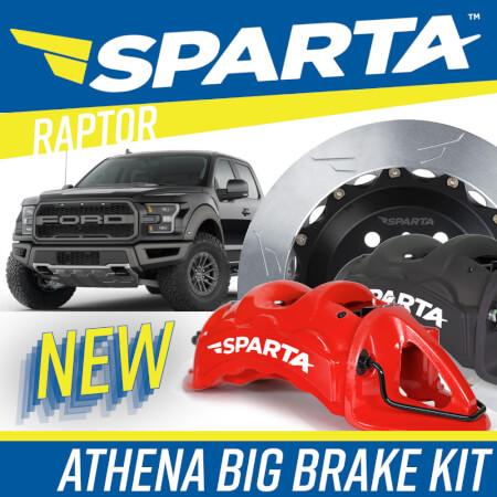 Athena Big Brake Kit for Ford F-150 Raptor
